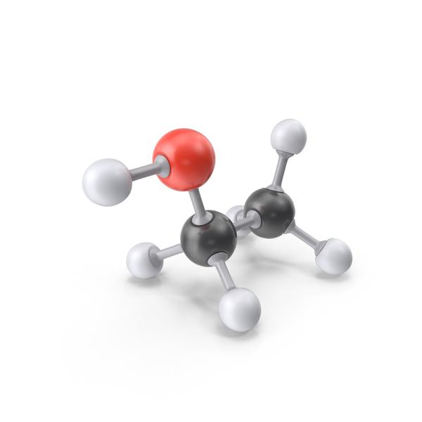 Ethanol Molecule PNG & PSD Images