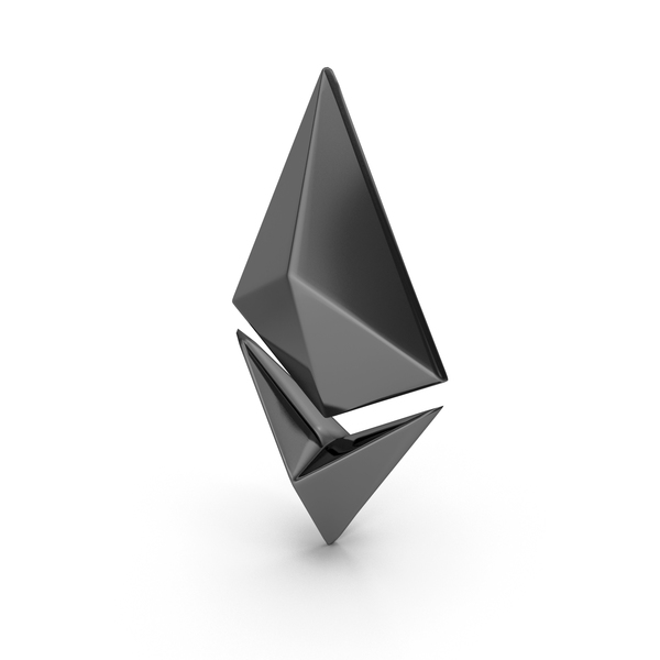 Cryptocurrency: Ethereum Black PNG & PSD Images