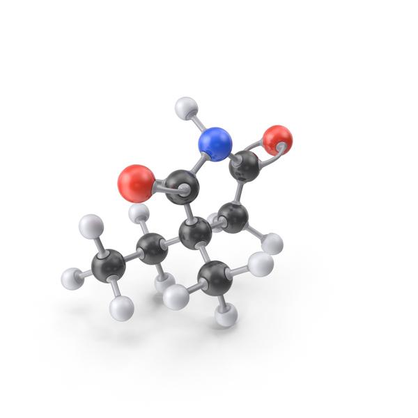 Ethosuximide Molecule PNG & PSD Images