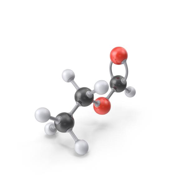 Ethyl Formate Molecule PNG & PSD Images