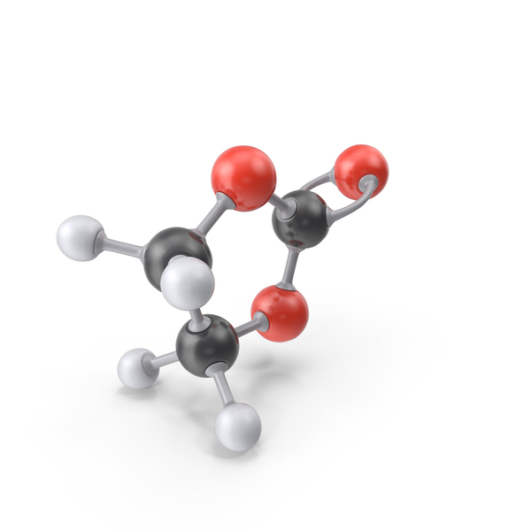 Ethylene Carbonate Molecule PNG & PSD Images