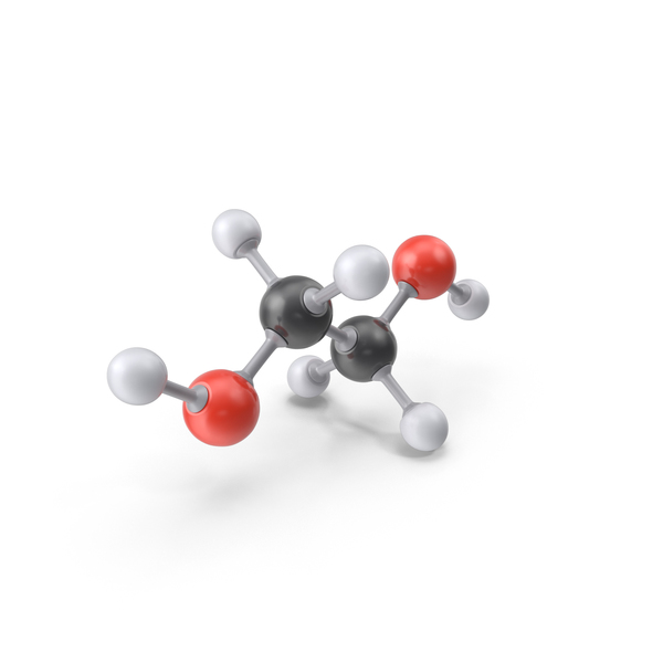 Ethylene Glycol Molecule PNG & PSD Images