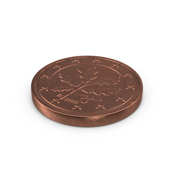 Euro 2 Cent Coin Object