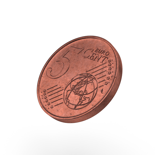 Euro 5 Cent Coin Object