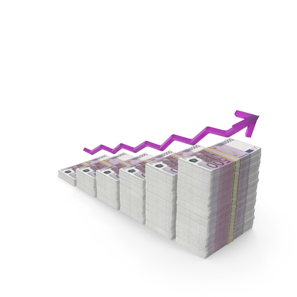 Euro Income Graph PNG & PSD Images