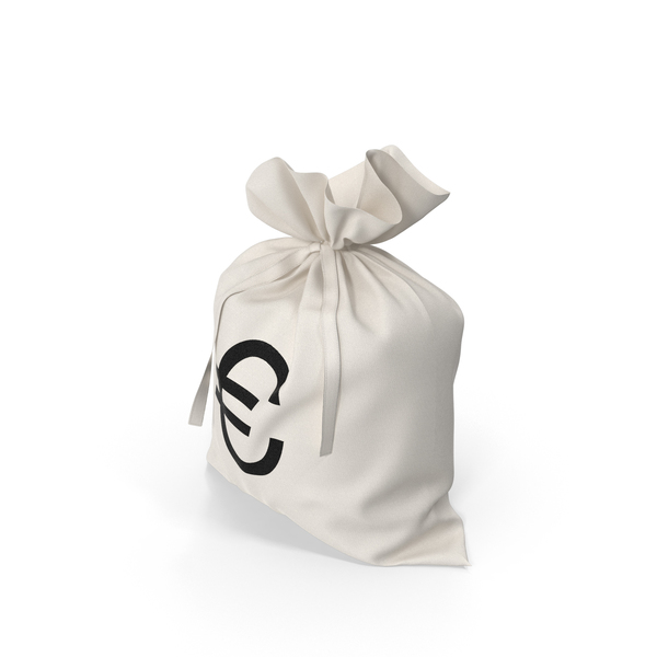 Euro Money Bag PNG & PSD Images