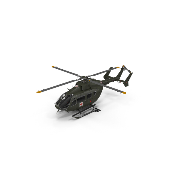 Eurocopter H-72 Lakota Helicopter PNG & PSD Images