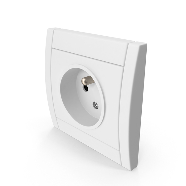 European Electrical Outlet PNG & PSD Images