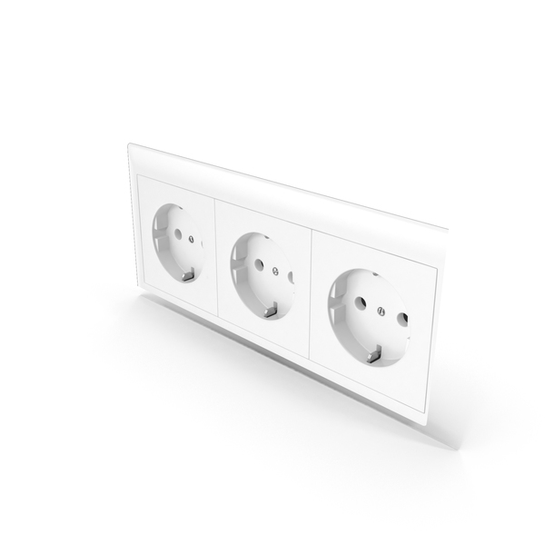 Electrical: European Power Outlet PNG & PSD Images