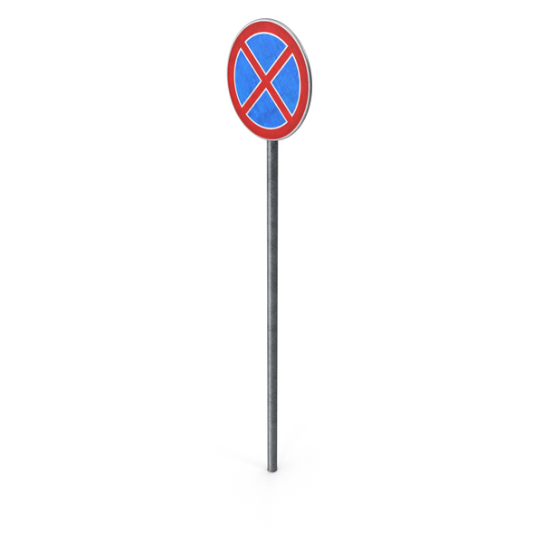 European Road Sign No Stopping PNG & PSD Images