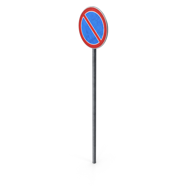 European Road Sign No Waiting PNG & PSD Images