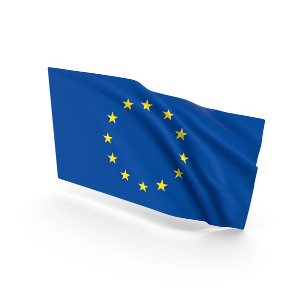 Eu: European Union Waving Flag PNG & PSD Images