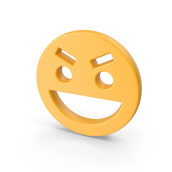 Smiley Face: Evil Smile PNG & PSD Images