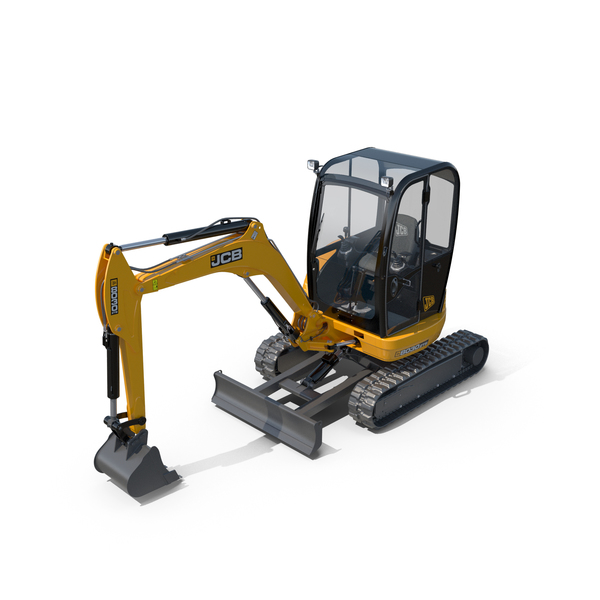 Excavator JCB 8030 ZTS PNG & PSD Images