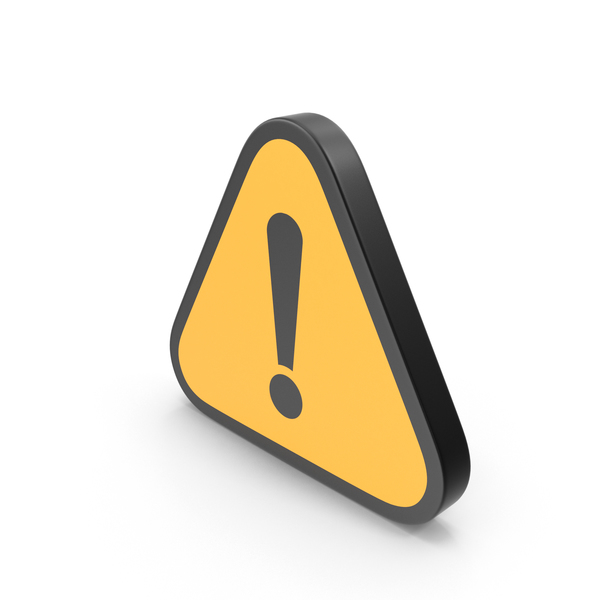 Caution: Exclamation Mark Sign PNG & PSD Images