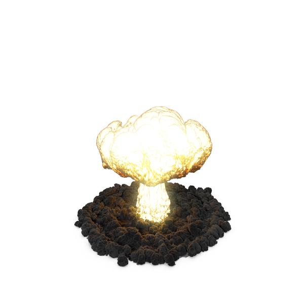 Explosion Massive Nuke Object