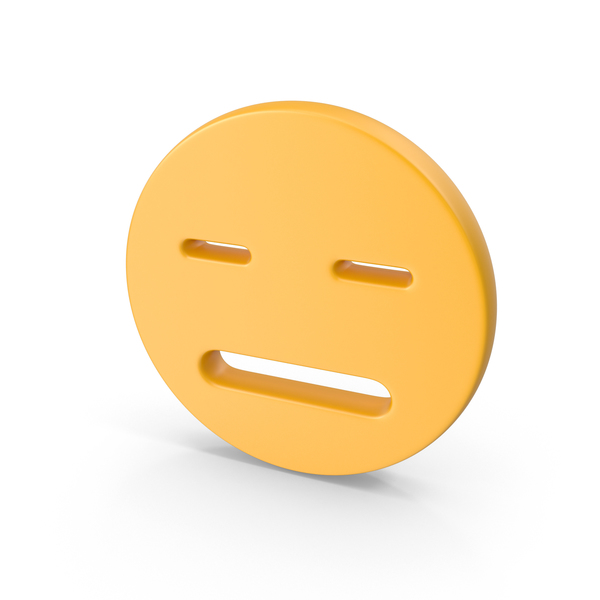 Expressionless Smiley Face PNG & PSD Images