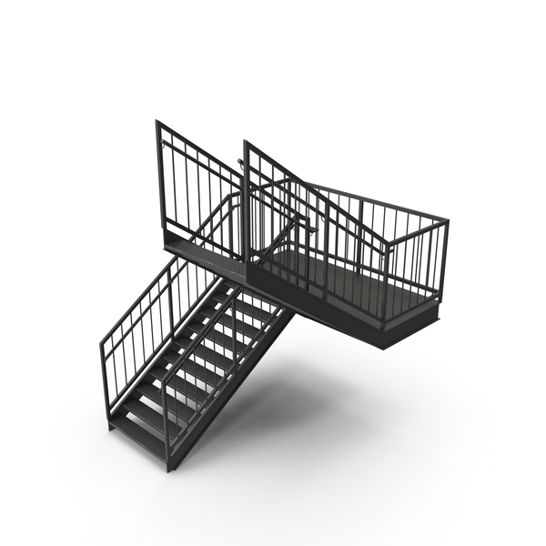 Stair: Exterior Staircase PNG & PSD Images