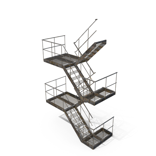 Stair: External Staircase PNG & PSD Images
