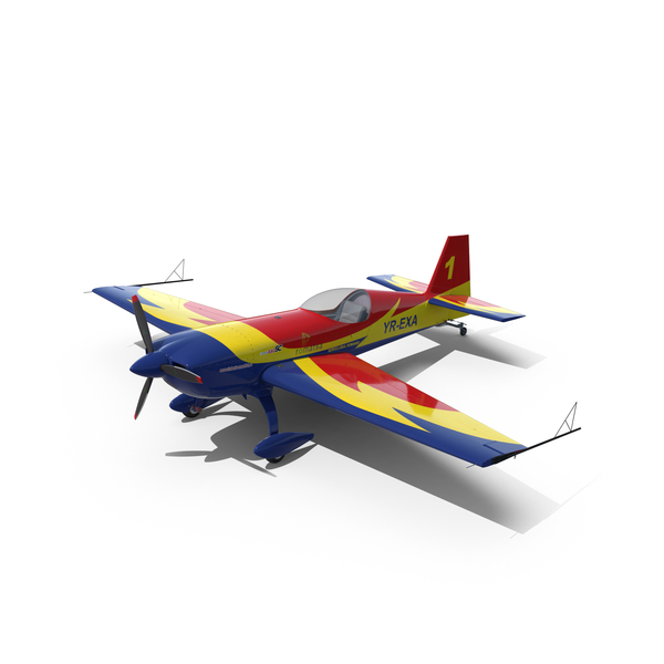 Stuntplane: Extra 330 Race Aircraft PNG & PSD Images
