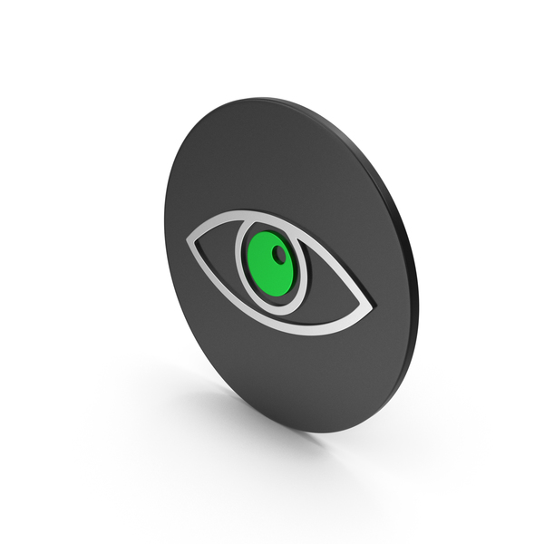 Computer: Eye Icon PNG & PSD Images