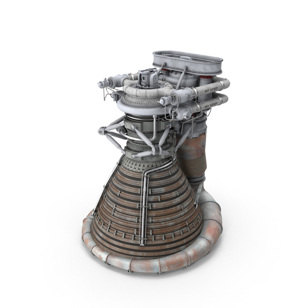 F-1 Rocket Engine PNG & PSD Images