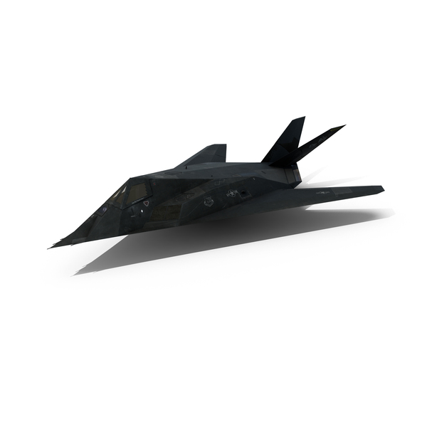 Aircraft: F-117 Nighthawk Stealth Bomber PNG & PSD Images