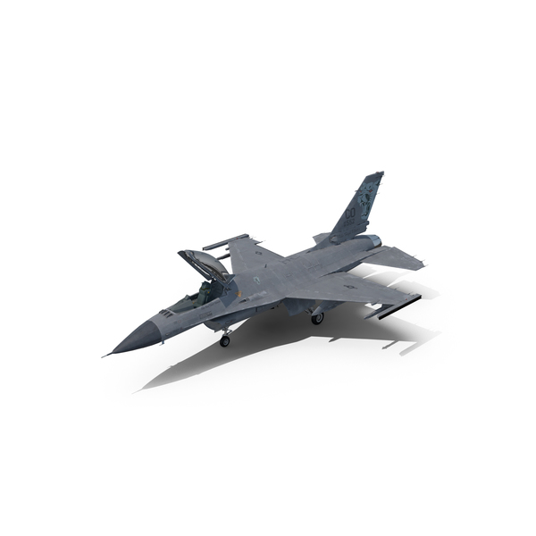 F-16 Fighter Jet Object
