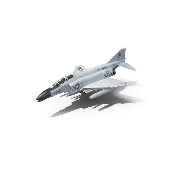 F-4 Phantom II US Navy PNG & PSD Images