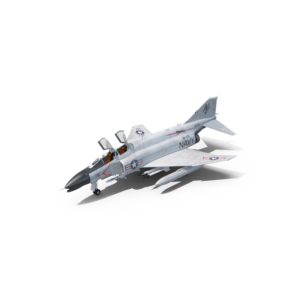 Fighter Jet: F-4 Phantom II US Navy PNG & PSD Images