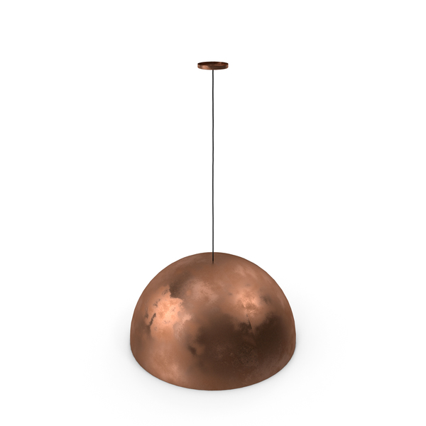 Fabbian Copper Pendant Lamp PNG & PSD Images