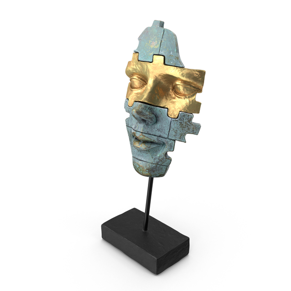 Face Mask Statue PNG & PSD Images