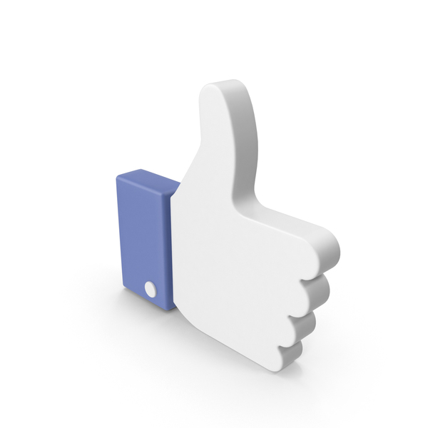 Thumbs Up: Facebook Like Sign Object