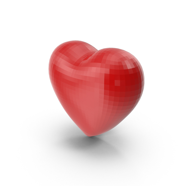 Shape: Faceted Heart PNG & PSD Images