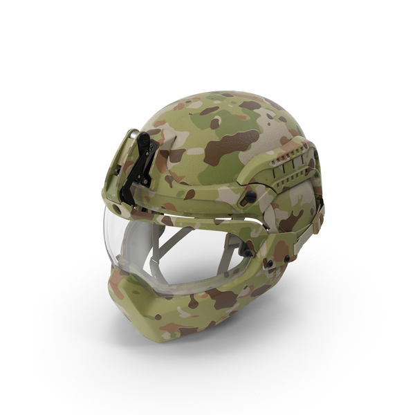 Facial Armor Helmet PNG & PSD Images