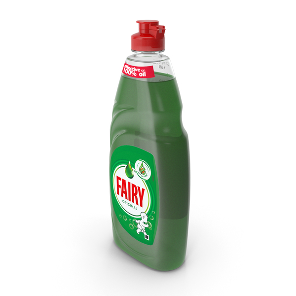 Fairy Dishwashing Liquid PNG & PSD Images
