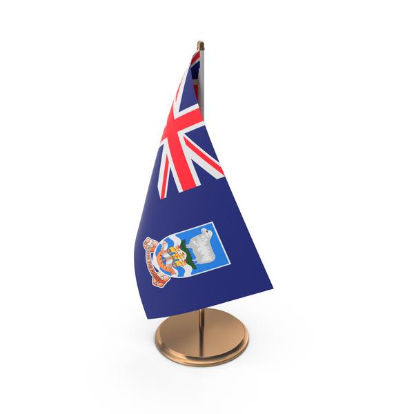 Falkland Islands Desk Flag PNG & PSD Images