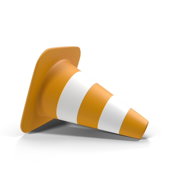 Cones: Fallen Traffic Cone PNG & PSD Images