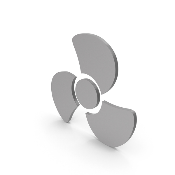 Computer: Fan Icon Grey PNG & PSD Images