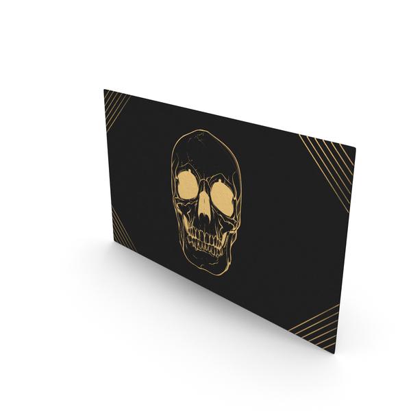 Office Supplies: Fancy Business Card Mockup Killer Assassin PNG & PSD Images