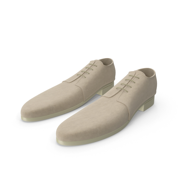 Fancy Toon Suede Shoes PNG & PSD Images
