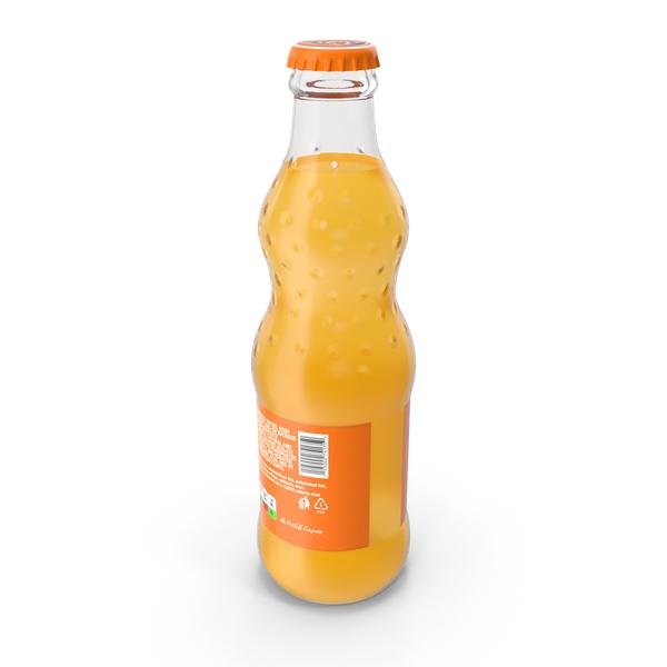 Fanta Glass Bottle PNG & PSD Images