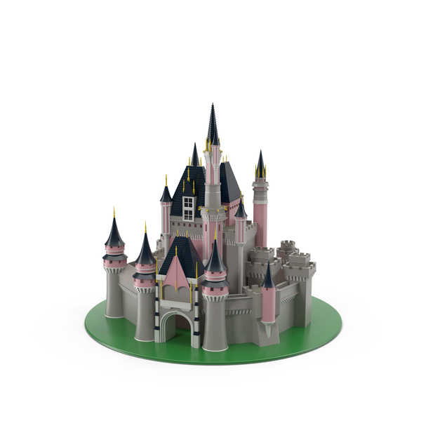 Cartoon: Fantasy castle PNG & PSD Images