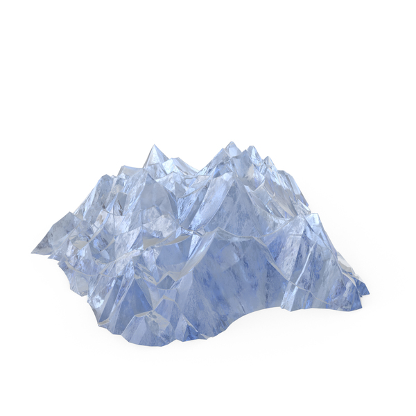 Fantasy Ice Mountains PNG & PSD Images