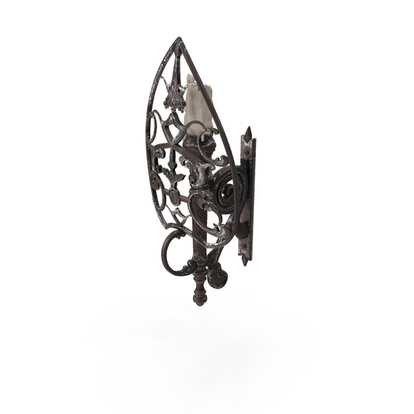 Fantasy Sconce PNG & PSD Images