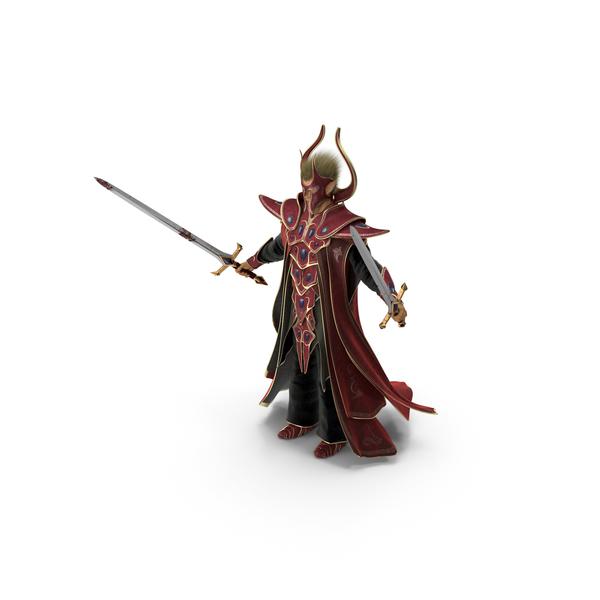 Fantasy Swordsman PNG & PSD Images