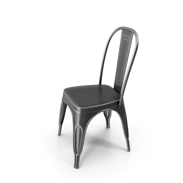 Bistro: Farmhouse Metal Chair PNG & PSD Images