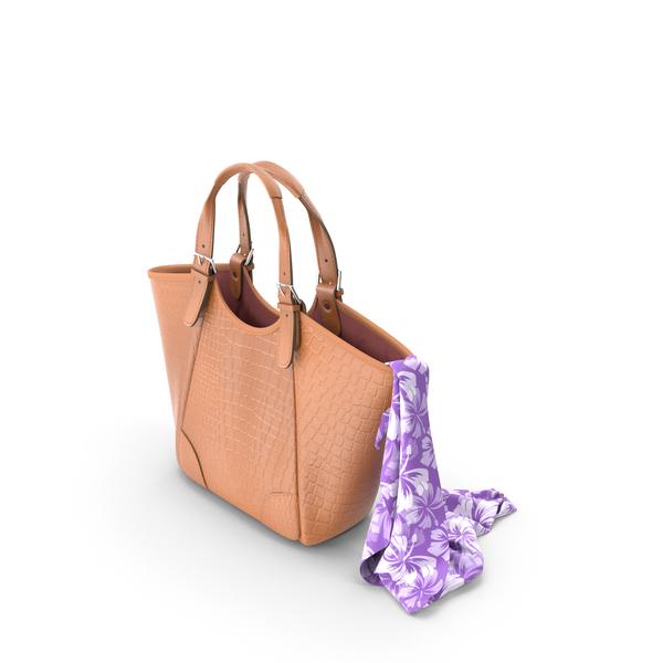 Shoulder: Fashion Leather Bag PNG & PSD Images