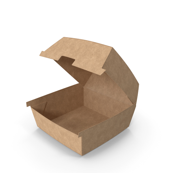 Fast Food Burger Box PNG & PSD Images