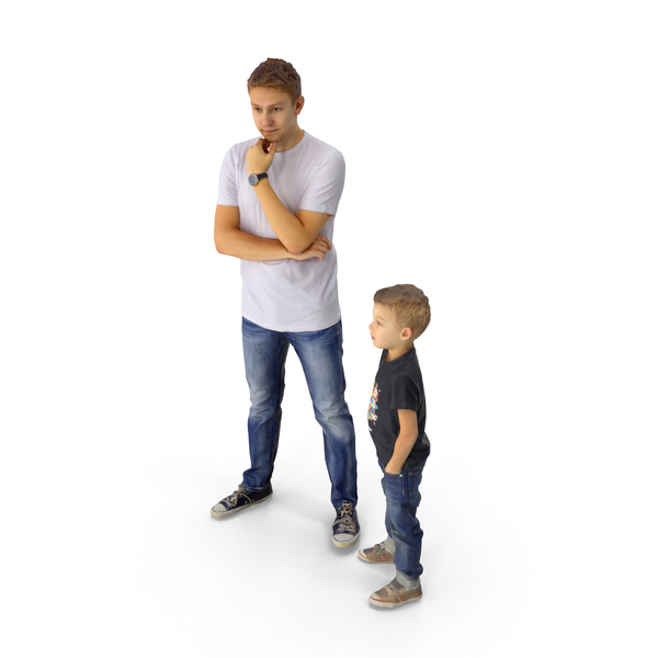 Man: Father and Son PNG & PSD Images